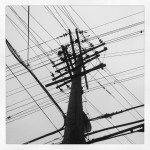B&W Pole w/Wires 150x150